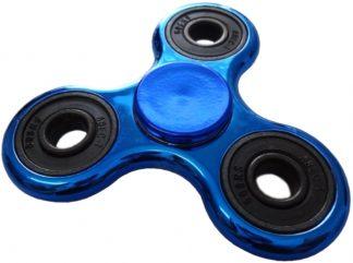 Fidget Hand spinner - Blå