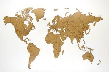 Verdenskort til væggen